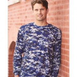Badger 4184 Digital Camo Long Sleeve T-Shirt