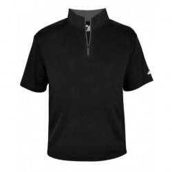Badger 4199 B-Core Quarter-Zip T-Shirt