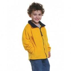 Bayside 1115 Youth USA-Made Full-Zip Fleece Jacket