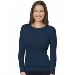 Bayside 3420 Women's USA-Made Long Sleeve Thermal