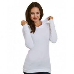 Bayside 3425 Women's USA-Made Soft Thermal Hoodie