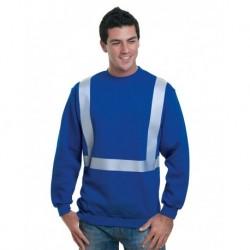 Bayside 3792 USA-Made Hi-Visibility Crewneck Sweatshirt