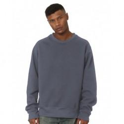 Bayside 4025 USA-Made Super Heavy Ovesized Crewneck Sweatshirt