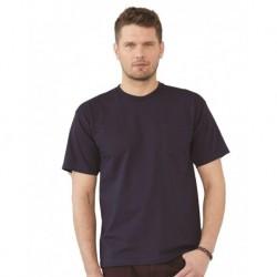 Bayside 5070 USA-Made Short Sleeve T-Shirt With a Pocket