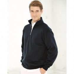 Bayside 920 USA-Made Quarter-Zip Pullover Sweatshirt