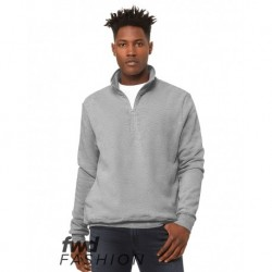 BELLA + CANVAS 3740 FWD Fashion Unisex Quarter Zip Pullover Fleece