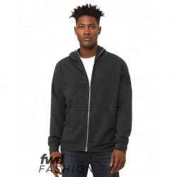 BELLA + CANVAS 3741 FWD Fashion Unisex Total Zip Hoodie