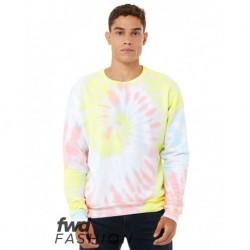 BELLA + CANVAS 3945RD FWD Fashion Unisex Tie-Dye Crewneck Sweatshirt