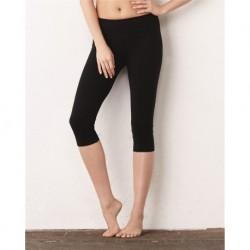 BELLA + CANVAS 811 Women's Cotton Spandex Capri Fit Leggings