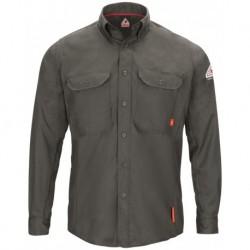 Bulwark QS50 iQ Series Long Sleeve Comfort Woven Lightweight Shirt