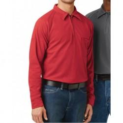 Bulwark QT12L Long Sleeve Polo Long Sizes