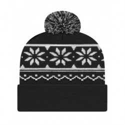 CAP AMERICA RKF12 USA-Made Snowflake Beanie