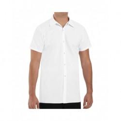 Chef Designs 5050L Poly/Cotton Cook Shirt Longer Length