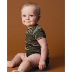 Code Five 4403 Infant Camouflage Creeper
