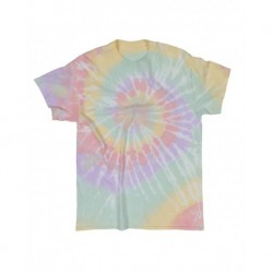 Dyenomite 200MS Multi-Color Spiral Tie-Dyed T-Shirt