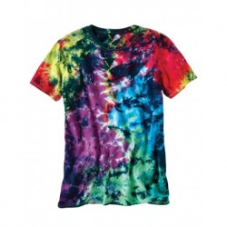 Dyenomite 640LM LaMer Over-Dyed Crinkle Tie Dye T-Shirt