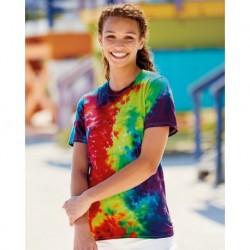 Dyenomite 640VR Slushie Crinkle Tie Dye T-Shirt