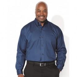 FeatherLite 7281 Long Sleeve Twill Shirt Tall Sizes