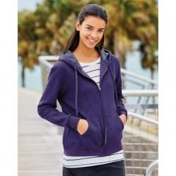 Fruit of the Loom LSF73R Women's Sofspun Full-Zip Hooded Sweatshirt