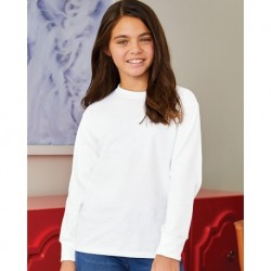 Hanes 5546 Authentic Youth Long Sleeve T-Shirt