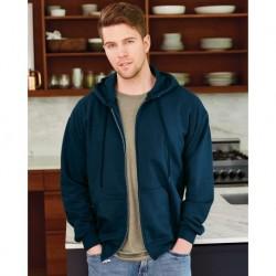 Hanes F280 Ultimate Cotton Full-Zip Hooded Sweatshirt
