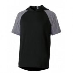 Holloway 222545 Echo Hooded Short Sleeve Pullover