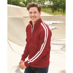 Independent Trading Co. EXP70PTZ Unisex Lightweight Poly-Tech Full-Zip Track Jacket