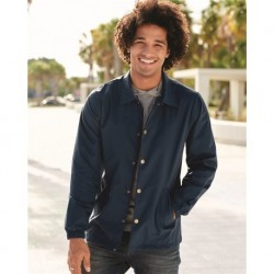 Independent Trading Co. EXP99CNB Water-Resistant Windbreaker Coach's Jacket