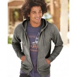 Independent Trading Co. PRM33SBZ Unisex Special Blend Raglan Full-Zip Hooded Sweatshirt