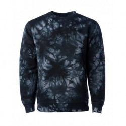 Independent Trading Co. PRM3500TD Unisex Midweight Tie-Dyed Sweatshirt