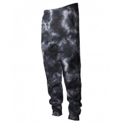 Independent Trading Co. PRM50PTTD Tie-Dyed Fleece Pants