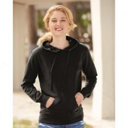 Independent Trading Co. SS650 Juniors' Heavenly Fleece Lightweight Hooded Sweatshirt