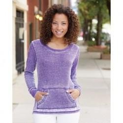J. America 8255 Women's Zen Thermal Long Sleeve T-Shirt