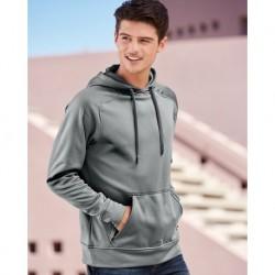 J. America 8670 Volt Polyester Hooded Sweatshirt