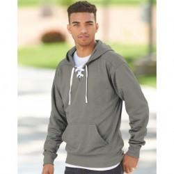 J. America 8833 Sport Lace Polyester Fleece Hooded Sweatshirt