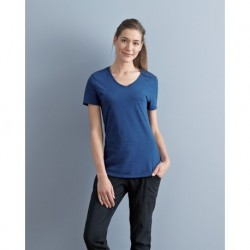 JERZEES 601WVR Women's Tribend V-Neck Short Sleeve T-Shirt