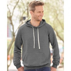 JERZEES 90MR Snow Heather French Terry Pullover Hood Sweatshirt