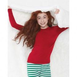 LAT 611Z Youth Baby Rib Pajama Top