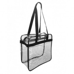 OAD OAD5005 OAD Clear Tote with Zippered Top