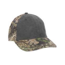 Outdoor Cap PDC100 Camo with Pigment-Dyed Twill Front Cap