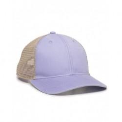 Outdoor Cap PNY100M Ponytail Mesh-Back Cap