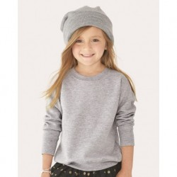 Rabbit Skins 3317 Toddler Fleece Crewneck Sweatshirt