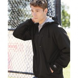 Rawlings 9728 Full-Zip Hooded Wind Jacket