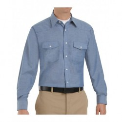 Red Kap SC14 Deluxe Western Style Long Sleeve Shirt