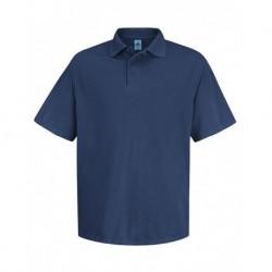 Red Kap SK20 Short Sleeve Spun Polyester Pocketless Polo