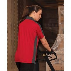 Red Kap SK53 Women's Short Sleeve Performance Knit Two-Tone Polo