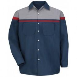 Red Kap SP14ACL Performance Tech Long Sleeve Shirt - Long Sizes