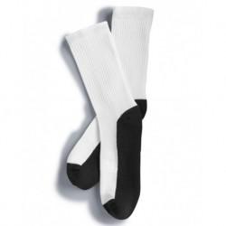 SOCCO SUB100 USA-Made Crew Socks For Sublimation