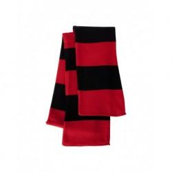 Sportsman SP02 Rugby-Striped Knit Scarf