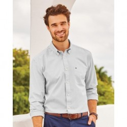 Tommy Hilfiger 13H1861 Capote End-on-End Chambray Shirt